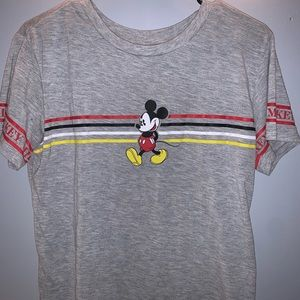 Mickey Mouse crop top!